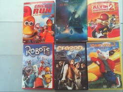 LOT DE 6 DVD ENFANT