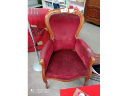 FAUTEUIL ASSISE ROUGE